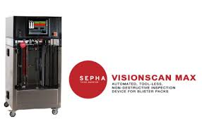 Blister Pack Display Stands Best Sepha VISIONSCAN MAX Nondestructive Blister Inspection