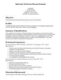 Veterinary Technician Resume Templates Free - Igrefriv.info