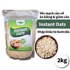 Yến mạch Úc tươi combo 2kg giảm cân cán vỡ ăn liền, cho bé ăn dặm  Golovinshop tại TP. Hồ Chí Minh