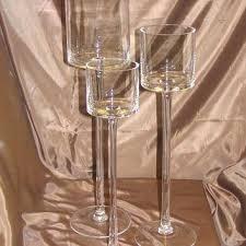 lovely long stem glass tealight holders and long stem glass tealight candle holders luxury candles votive