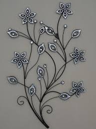 large metal wall art flowers