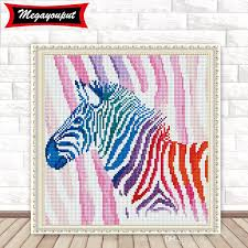 Wholesale Full 5d Diamond Painting Kits Embroidery Horse Cross Stitch Kits Living Room Mosaic Pattern Fast Shipping