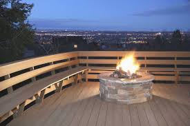 gas fire pit on wood deck beautiful photos of 12 outdoor fireplaces with outdoor fireplace wood