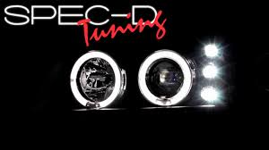 SPECDTUNING DEMO VIDEO: 2000-2005 CHEVY IMPALA HALO LED PROJECT ...