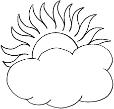 Small Picture Cloud Coloring Pages sun and cloud coloring pages Kids Coloring