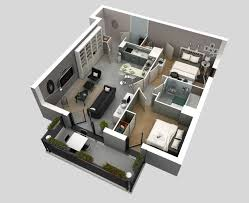 Two Door Apartment Design 2 Bedroom Apartment House Plans