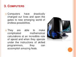 important inventions that change our way of life 6 3 computers