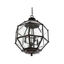 eichholtz owen lantern traditional pendant lighting. Eichholtz Owen Lantern - Gun Metal Medium Traditional Pendant Lighting Y
