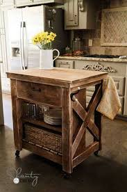 cheap kitchen island ideas. Rustic-Homemade-Kitchen-Islands-19 Cheap Kitchen Island Ideas