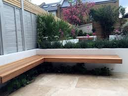 Small Picture floating hardwood bench travertine paving raised beds brixton