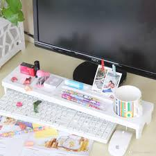 office desktop storage. Office Desktop Storage Shelf Wooden Plastic Board/Sub-nest Design Desk Debris Rack N