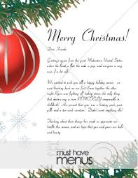 christmas menu borders merry christmas ornament letter christmas menu borders