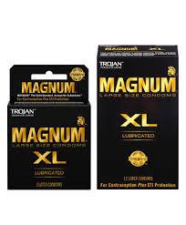 magnum xl size trojan magnum xl extra large lubricated condoms choose quantity