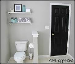 Bathroom makeover - paint color Graceful Gray by Behr