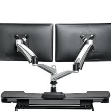dual monitor arms desk mount dual monitor arm mount monitor stands dual monitor arm ross double