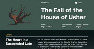 the fall of the house of usher documents course hero