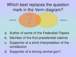 Federalists And Anti Federalists Venn Diagram Ppt Daily Essential Questions Powerpoint Presentation