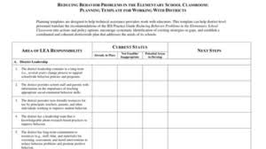 behavior intervention plan template reducing behavior problems planning template 1 the doing what