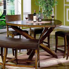 Triangular Kitchen Table Sets Brilliant Triangle Dining Room Table Set With Regard To Current