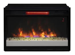 detail classic flame 26 infrared electric fireplace insert