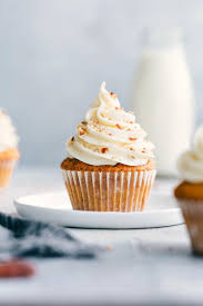 Carrot Cake Cupcakes With Cream Cheese Frosting Chelseas Messy Apron