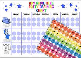 Details About Reusable Boys Potty Training Reward Chart 88 Smile Face Stickers A4 Chart