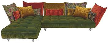 Wohnlandschaft In Textil Multicolor Sofas Couches Sofa