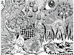 Trippy Coloring Pages Printable For Adults Sheets Psychedelic Colo