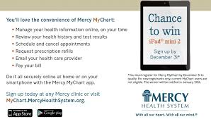 Mercy Health System My Chart Mercy Mychart Mercy Online
