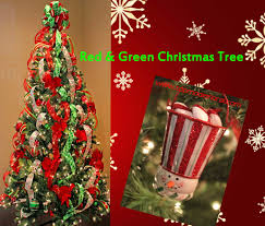 Red Green Christmas Tree Ideas Unique Floral Arrangements By