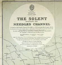 Nautical Charts New England Coast England South Coast The Solent Including The Needles