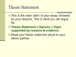 thesis statement for opinion essay custom peptide synthesis  do you write a thesis for a bachelor degree