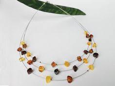 Natural baltic amber orange <b>color</b> necklace for her natural | Etsy ...