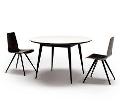 retro corian round dining table