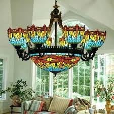 stained glass chandelier get ations a vintage stained glass chandelier living room chandelier bedroom lamp chandelier stained glass chandelier