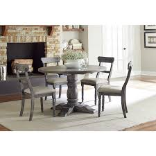 round dining room set. The Gray Barn Alroy Downs Weathered Pepper Grey Finish Round Dining Table - Free Shipping Today Overstock 18590394 Room Set