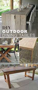 easy diy outdoor dining table. adorable diy patio dining table and best 25 outdoor tables ideas on home design easy diy