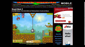 Cool Math Games 1 Snail Bob 2 Ep 1 With Chips And Milik Youtube