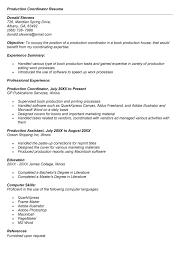 production coordinator resumes youth coordinator resume sales coordinator lewesmr