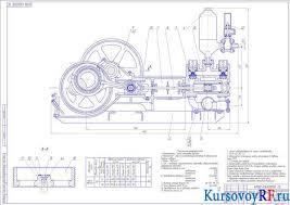 Курсовая разработка бурового насоса ремонта клапанной коробки Чертеж Насос поршневой 9МГр 61