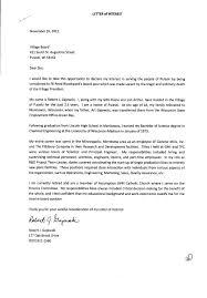 Letter Of Interest For Board Position Bigdrillcar Com