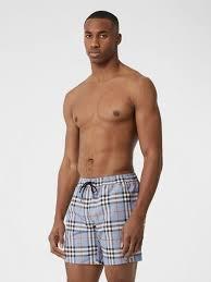 Icon Swim Size Chart Men S Swimwear Burberry United Kingdom