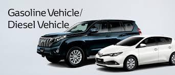 Toyota Global Site | Gasoline Vehicle/Diesel Vehicle