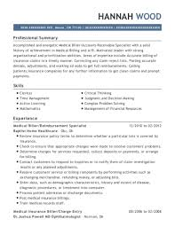 Charge Entry Specialist Sample Resume