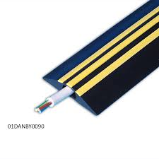 office cable covers. 9m Hazard Identification Cable Covers - Red Or Yellow Stripes Office E