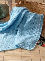 Free Crochet Baby Afghan Patterns Interesting Popular Free Crochet Baby Boy Blanket Patterns Boy Wrapper Crochet