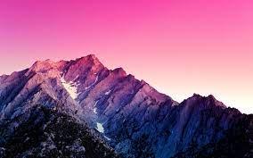 Mountain Purple Sky 4K Wallpaper #28
