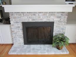 How To Whitewash Brick Whitewash Brick Fireplace Easy Diy Hirerush Blog