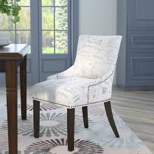 cloth dining chairs. York Upholstered Dining Chair Cloth Chairs Wayfair