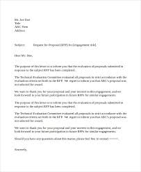 proposal letter example business proposal business proposal rejection letter in doc 21